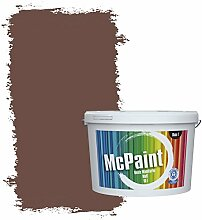 McPaint Bunte Wandfarbe Kastanienbraun - 2,5 Liter