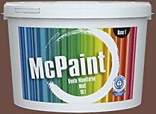 McPaint Bunte Wandfarbe Kastanienbraun-5 Litre