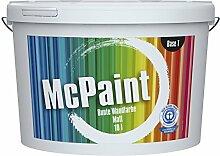 McPaint Bunte Wandfarbe Kirschrot-10 Litre