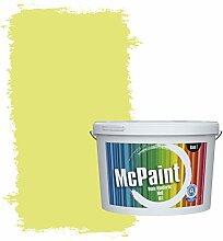 McPaint Bunte Wandfarbe Leuchtgrün - 5 Liter -