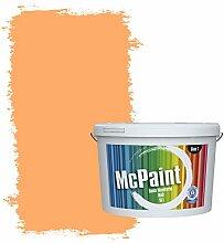 McPaint Bunte Wandfarbe Mandarine - 2,5 Liter -