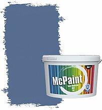 McPaint Bunte Wandfarbe Marineblau - 2,5 Liter -