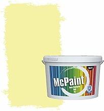 McPaint Bunte Wandfarbe matt für Innen Avocadogrün 2,5 Liter - Weitere Grüne Farbtöne Erhältlich - Weitere Größen Verfügbar