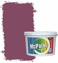 McPaint Bunte Wandfarbe matt für Innen Beere 2,5