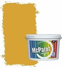 McPaint Bunte Wandfarbe matt für Innen Bernstein