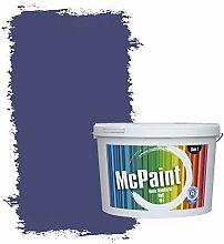 McPaint Bunte Wandfarbe matt für Innen Blaubeere