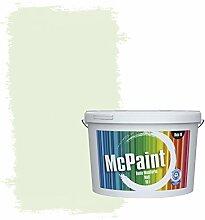 McPaint Bunte Wandfarbe matt für Innen grüner Tee 10 Liter - Weitere Grüne Farbtöne Erhältlich - Weitere Größen Verfügbar