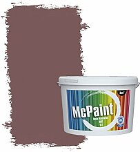 McPaint Bunte Wandfarbe matt für Innen Herbstrot
