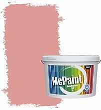 McPaint Bunte Wandfarbe matt für Innen Lachs 10 Liter - Weitere Rote Farbtöne Erhältlich - Weitere Größen Verfügbar
