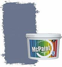 McPaint Bunte Wandfarbe matt für Innen Nebelblau