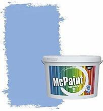 McPaint Bunte Wandfarbe matt für Innen Polarblau
