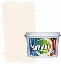 McPaint Bunte Wandfarbe matt für Innen Rosenweiß