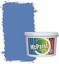 McPaint Bunte Wandfarbe matt für Innen Royalblau