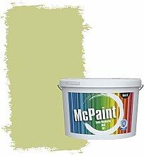 McPaint Bunte Wandfarbe matt für Innen Salbeigrün 10 Liter - Weitere Grüne Farbtöne Erhältlich - Weitere Größen Verfügbar