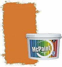 McPaint Bunte Wandfarbe matt für Innen Sanddorn