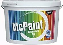 McPaint Bunte Wandfarbe matt für Innen Zartrosé