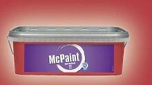 McPaint Bunte Wandfarbe matt Spicy 2,5 Liter