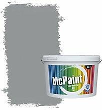 McPaint Bunte Wandfarbe Mausgrau - 2,5 Liter -