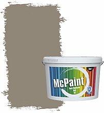 McPaint Bunte Wandfarbe Mokka - 2,5 Liter -