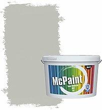 McPaint Bunte Wandfarbe Mondgrau - 2,5 Liter -