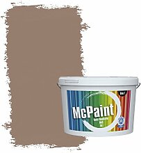 McPaint Bunte Wandfarbe Nougat - 2,5 Liter -