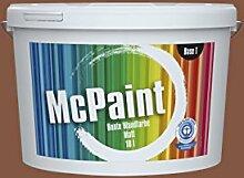McPaint Bunte Wandfarbe Nussbaum-5 Litre