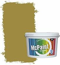 McPaint Bunte Wandfarbe Olivgrün - 5 Liter - Weitere Grüne Farbtöne Erhältlich - Weitere Größen Verfügbar
