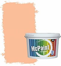 McPaint Bunte Wandfarbe Pfirsichorange - 10 Liter