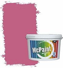 McPaint Bunte Wandfarbe Pink - 2,5 Liter - Weitere Violette Erhältlich - Weitere Größen Verfügbar