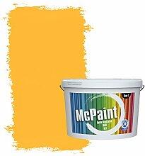 McPaint Bunte Wandfarbe Rapsgelb - 10 Liter -