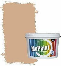McPaint Bunte Wandfarbe Sand - 5 Liter - Weitere Orange Erhältlich - Weitere Größen Verfügbar