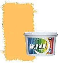 McPaint Bunte Wandfarbe Sonnengelb - 2,5 Liter -