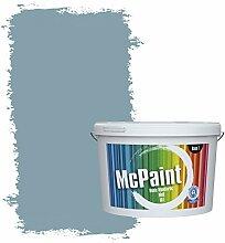 McPaint Bunte Wandfarbe Taubenblau - 5 Liter -