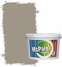 McPaint Bunte Wandfarbe Taupe - 2,5 Liter - Weitere Braune und Dunkle Farbtöne Erhältlich - Weitere Größen Verfügbar