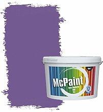 McPaint Bunte Wandfarbe Violett - 2,5 Liter - Weitere Violette Erhältlich - Weitere Größen Verfügbar