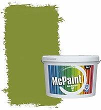 McPaint Bunte Wandfarbe Waldgrün - 10 Liter - Weitere Grüne Farbtöne Erhältlich - Weitere Größen Verfügbar