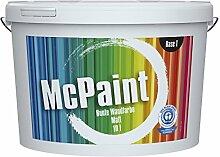 McPaint Bunte Wandfarbe Weinrot-5 Litre