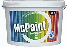 McPaint Bunte Wandfarbe Weiß - 5 Liter - Weitere