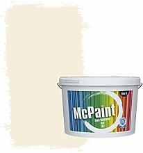 McPaint Bunte Wandfarbe Wolkenweiß - 10 Liter - Weitere Weiße und Helle Erhältlich - Weitere Größen Verfügbar