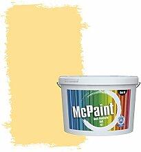 McPaint Bunte Wandfarbe Zitronengelb - 2,5 Liter -
