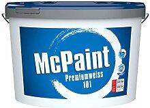 McPaint Wandfarbe Premiumweiß für den
