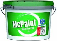 McPaint Wandfarbe Qualitätsweiß für den
