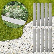 MCTECH® 10 x Rasenkante Metall verzinkt