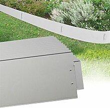 MCTECH® 15 x Rasenkante Metall verzinkt