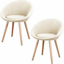 MCTECH® 2x Stuhl Esszimmerstühle Esszimmerstuhl