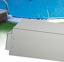 MCTECH® 35 x Rasenkante Metall verzinkt