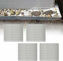 MCTECH® 40 x Rasenkante Metall verzinkt