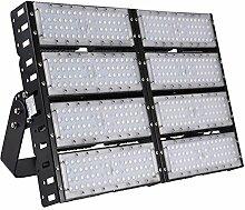 MCTECH 400W LED Super Hell Außen Flutlichtstrahler Fluter Flutlicht Scheinwerfer Strahler Tunnelbeleuchtung IP65 für Tunnel, Spielplatz (400W Kaltweiß)