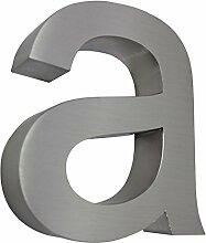 MCTECH® Schriftart Modern 3D-Design Edelstahl