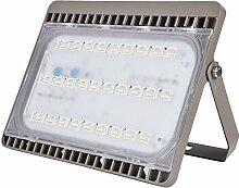 MCTECH Ultraslim 100W LED Flutlicht Kaltweiß Strahler Fluter Außenleuchte Innen Aussenstrahler Wandstrahler Baustrahler (100W Kaltweiß)